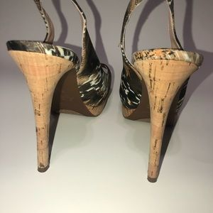 Guess by Marciano Shoes - Guess by Marciano | Peep-toe slingback heels